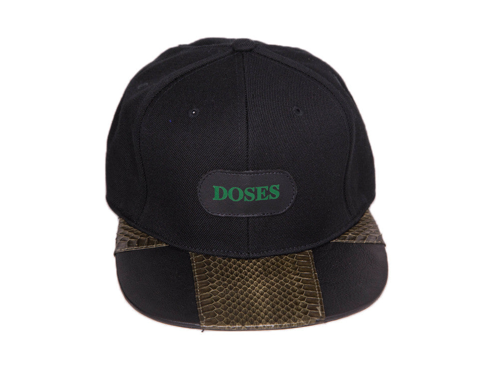 Doses Akin Snakeskin Strapback *SOLD OUT