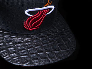 Miami Heat Alligator Strapback