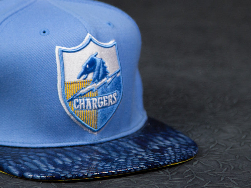 San Diego Chargers Snakeskin Strapback