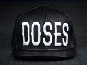 Doses Leather Big Block Strapback