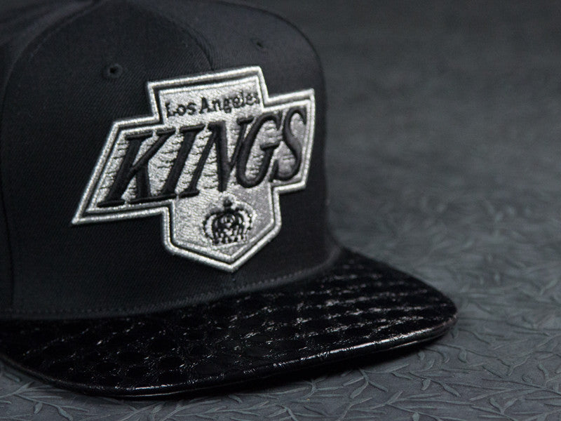 Los Angeles Kings Alligator Strapback