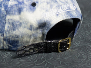 Los Angeles Kings Acid Wash Denim Snakeskin Strapback