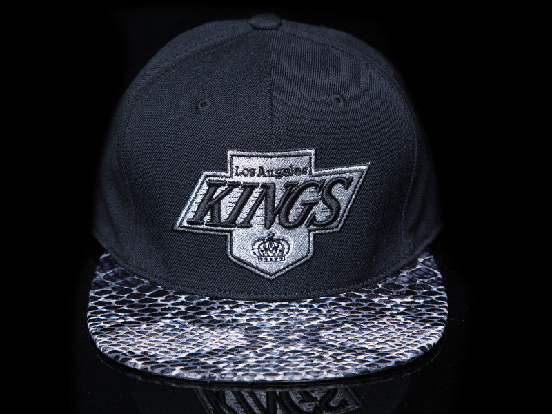 Los Angeles Kings Snakeskin Strapback