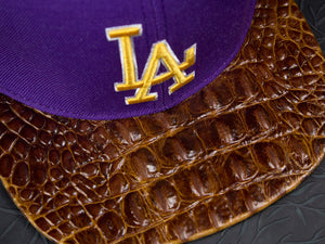 LA DODGERS Alligator Strapback