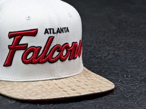 Atlanta Falcons Alligator Strapback