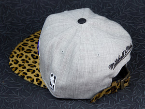 Los Angeles Lakers Leopard Strapback