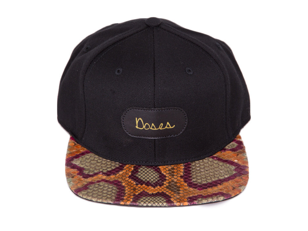 Doses Hendrix Snakeskin Strapback *SOLD OUT