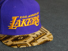 Los Angeles Lakers Aztec Strapback