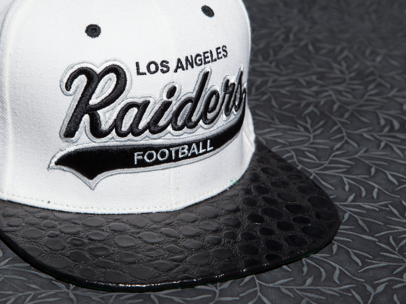 Los Angeles Raiders Alligator Strapback