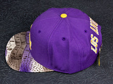 Los Angeles Dodgers Purp Alligator Strapback