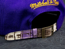 Los Angeles Lakers Alligator Strapback