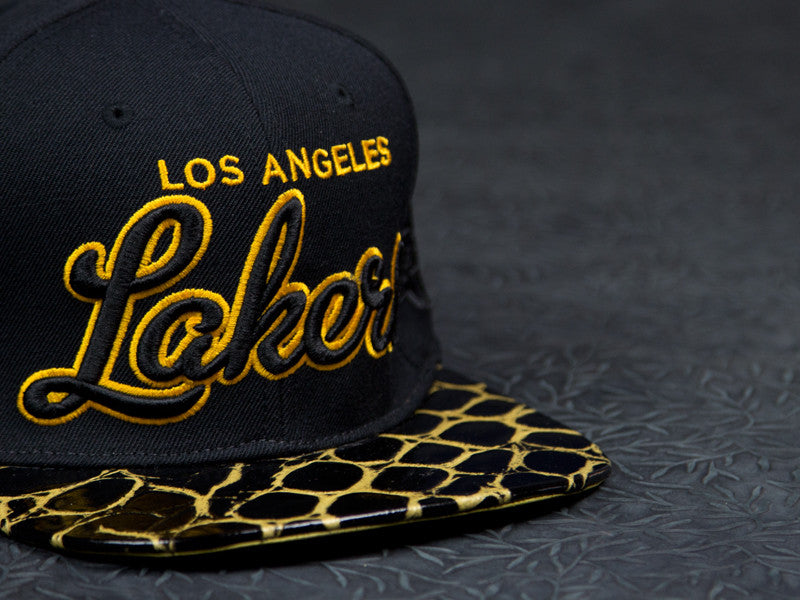Los Angeles Lakers Croc Strapback