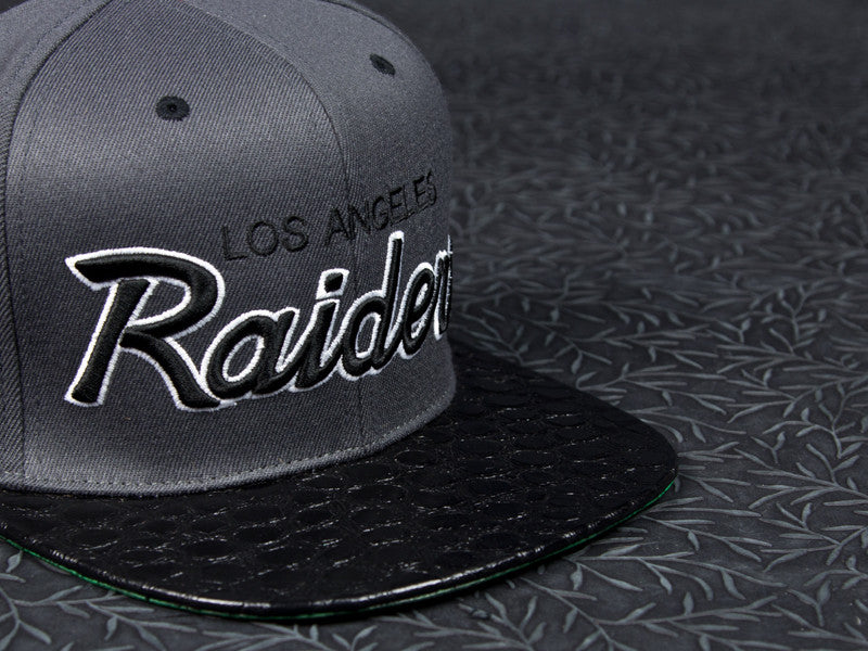 Los Angeles Raiders Crocodile Strapback