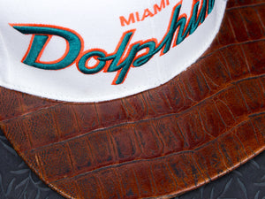 Miami Dolphins Alligator Strapback