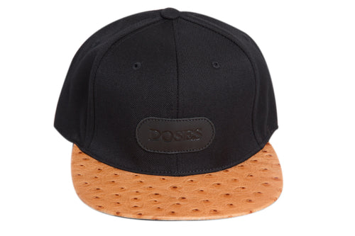 Doses Natural Ostrich Strapback