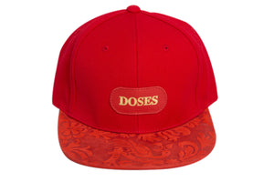 Doses Blood Shot Nubuck Strapback
