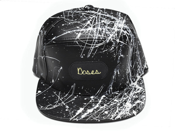 Doses White Splatter Strapback *SOLD OUT