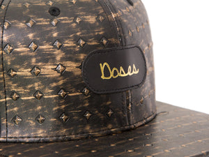 Doses Crown Leather Strapback *SOLD OUT