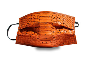 Python Face Mask (Orange)