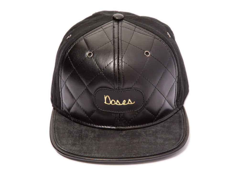 DOSES V2 QUILTED STRAPBACK *SOLD OUT