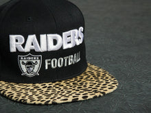 Oakland Raiders Cheetah Strapback