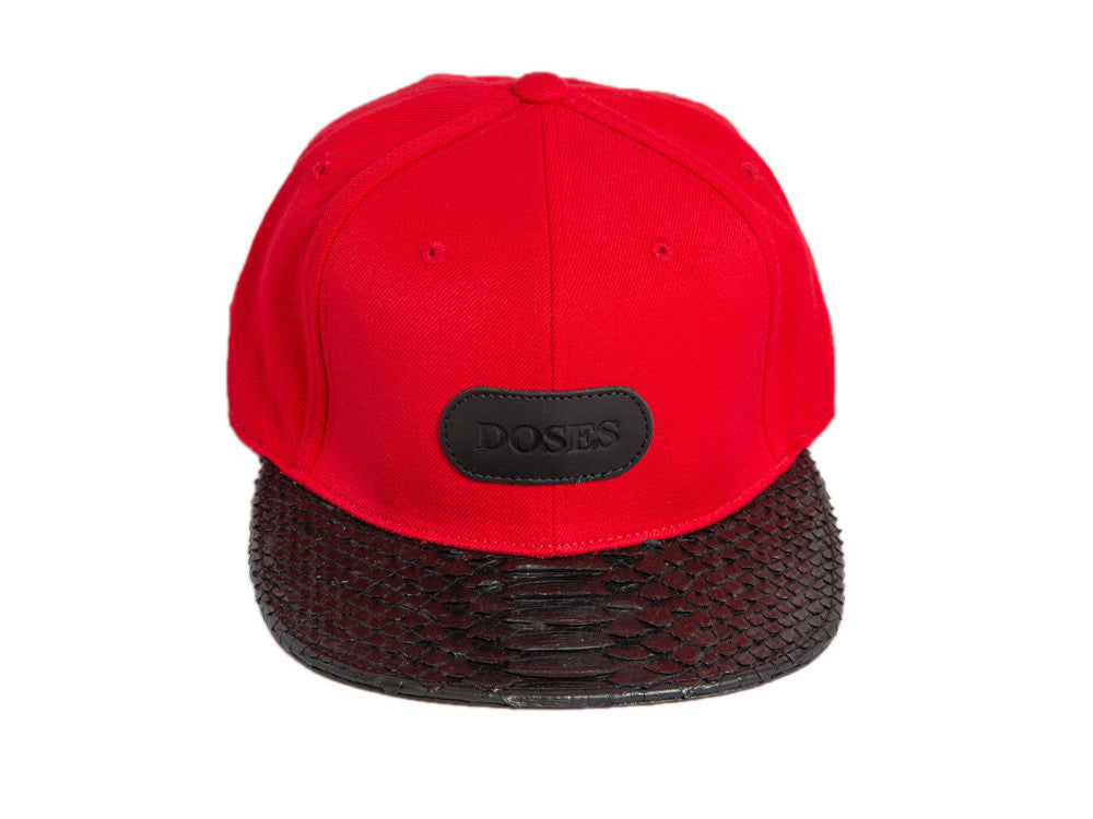 Doses Regality V4 Snakeskin Strapback *SOLD OUT