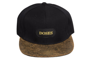 Doses Rust Leather Strapback