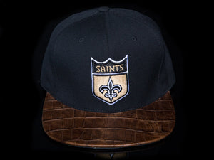 New Orleans Saints Alligator Strapback