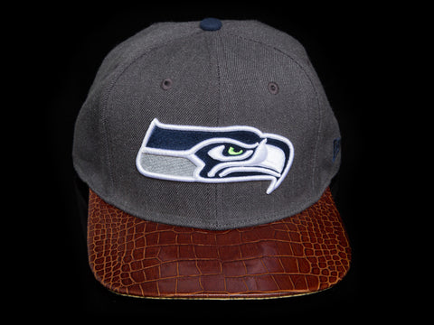 Seahawks Alligator Strapback