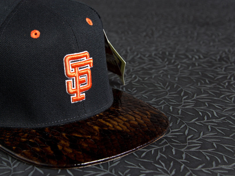 SF Giants Snakeskin Strapback