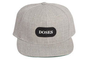 Doses Shadow Silver Label Strapback