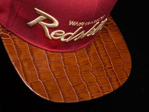 Washington Redskins Alligator Strapback