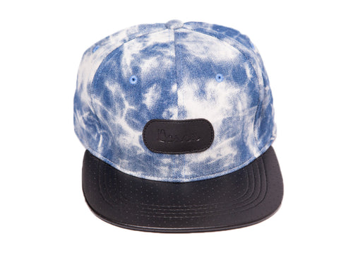 Sky Perforated Leather Strapback