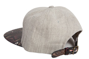 Doses Red Wolf Snakeskin Strapback