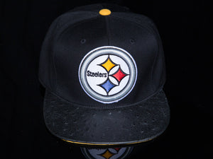 Pittsburgh Steelers Ostrich Strapback