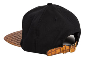 Doses Sorrel Woven Leather Strapback