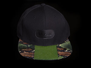 Doses UNIQUE Green Camo Stingray Strapback
