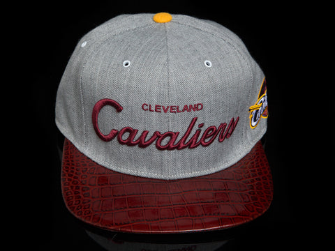Cleavland Cavaliers Alligator Strapback