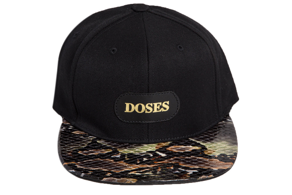 Doses Vera Snakeskin Strapback *SOLD OUT