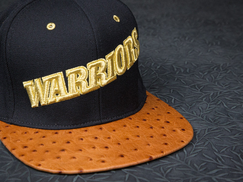 Warriors Ostrich Strapback