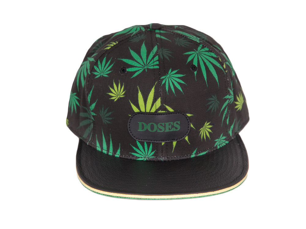 Doses Blaze Leather Strapback