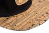 Doses Woodgrain Leather Strapback