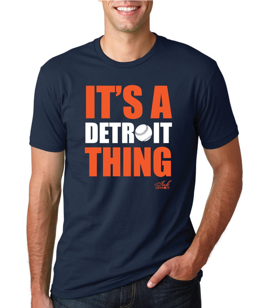 IT'S A DETROIT THING BASEBALL EDITION - T-Shirt