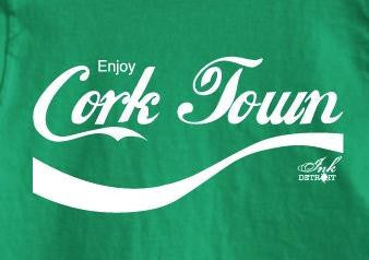 ENJOY CORK TOWN - T-Shirt - Irish Green