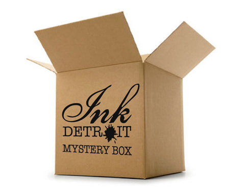 Mystery Box of 4 Men's Ink Detroit T-Shirts