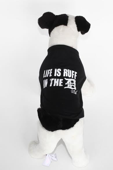 Life Is Ruff In The D LIFE - Baby Rib Dog Tank