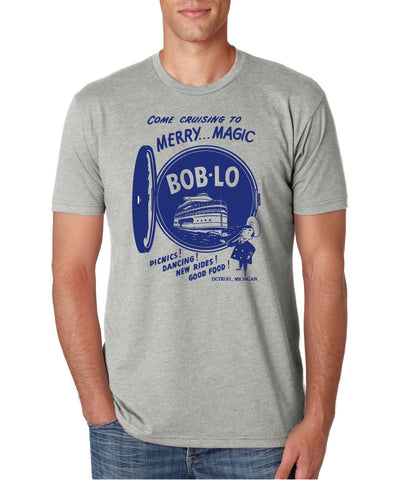 Boblo Island - T-Shirt - Light Grey