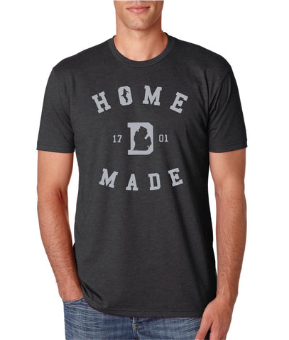 Detroit Home Made 1701 - T-Shirt - Charcoal Grey
