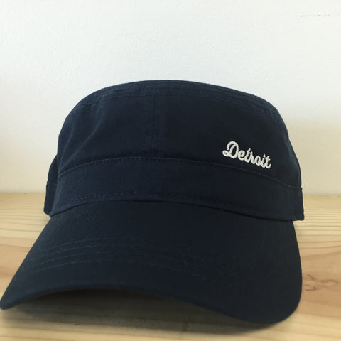 Detroit Military Fidel Cap - Navy