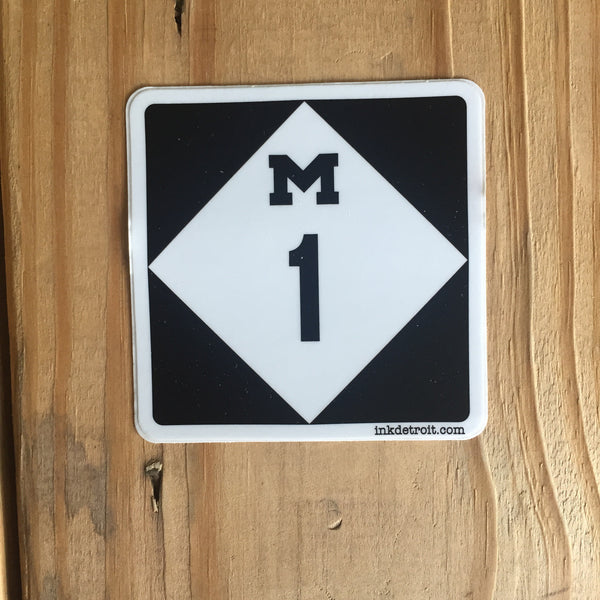 M1 Bumper Sticker